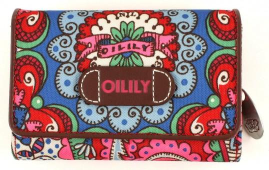 oilily s wallet geldb rse portemonnaie travel rot red ebay. Black Bedroom Furniture Sets. Home Design Ideas