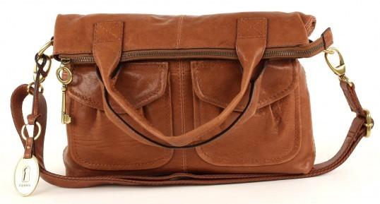 fossil leder tasche schultertasche handtasche braun neu ebay. Black Bedroom Furniture Sets. Home Design Ideas