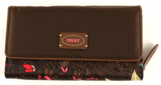 oilily paisley flowers l wallet geldb rse portemonnaie. Black Bedroom Furniture Sets. Home Design Ideas