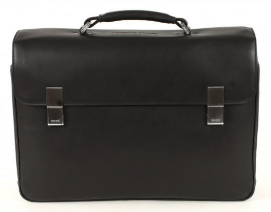 porsche design bag briefcase laptop bag black ebay. Black Bedroom Furniture Sets. Home Design Ideas