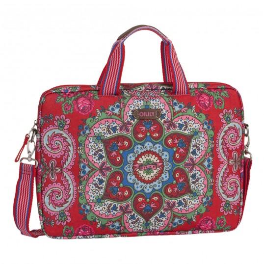 oilily travel laptop bag 17 tasche laptoptasche. Black Bedroom Furniture Sets. Home Design Ideas