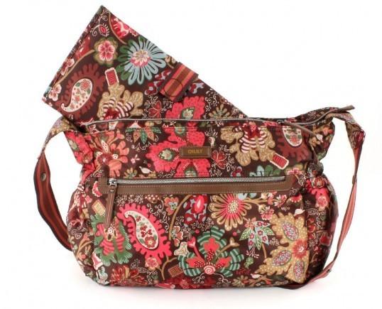 oilily winter leafs shoulder baby bag tasche wickeltasche. Black Bedroom Furniture Sets. Home Design Ideas