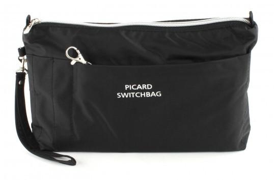 PICARD-SWITCHBAG-L-TASCHE-KOSMETIKTASCHE-KULTURTASCHE-BAG-IN-BAG-SCHWARZ-BLACK