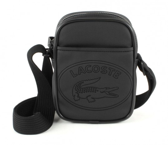 Lacoste New Classic Vertical Shoulder Bag Black 116