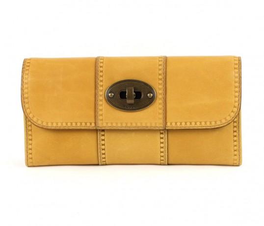 fossil vintage revival flap clutch purse wallet. Black Bedroom Furniture Sets. Home Design Ideas