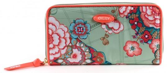 oilily fantasy flora travel wallet geldb rse geldbeutel. Black Bedroom Furniture Sets. Home Design Ideas