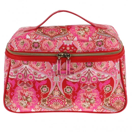 oilily summer mosaic l beauty case bag cosmetic bag culture bag strawberry ebay. Black Bedroom Furniture Sets. Home Design Ideas