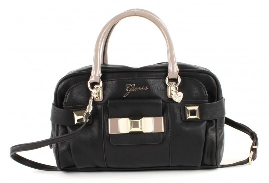 guess isia box satchel tasche schultertasche umh ngetasche. Black Bedroom Furniture Sets. Home Design Ideas
