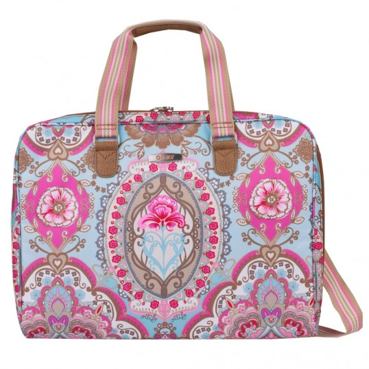 oilily travel lotus laptop bag 17 tasche laptoptasche. Black Bedroom Furniture Sets. Home Design Ideas