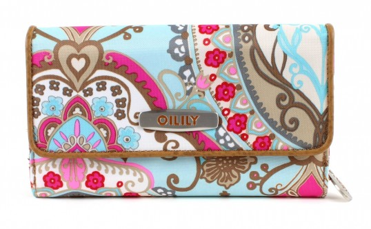 oilily travel lotus l wallet geldb rse portemonnaie geldb. Black Bedroom Furniture Sets. Home Design Ideas