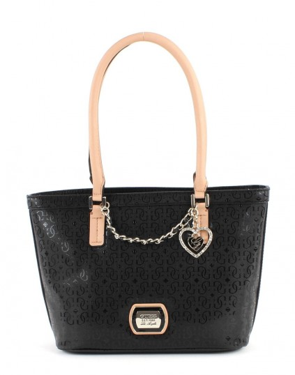 guess margeaux small classic tote tasche schultertasche. Black Bedroom Furniture Sets. Home Design Ideas