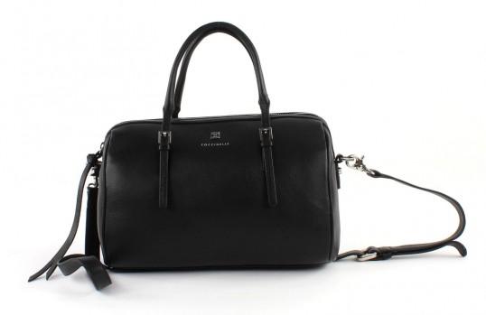 coccinelle betty soft handbag handtasche tasche umh ngetasche leder schwarz neu ebay. Black Bedroom Furniture Sets. Home Design Ideas