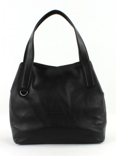 coccinelle mila shoulderbag tasche schultertasche henkeltasche schwarz nero neu. Black Bedroom Furniture Sets. Home Design Ideas