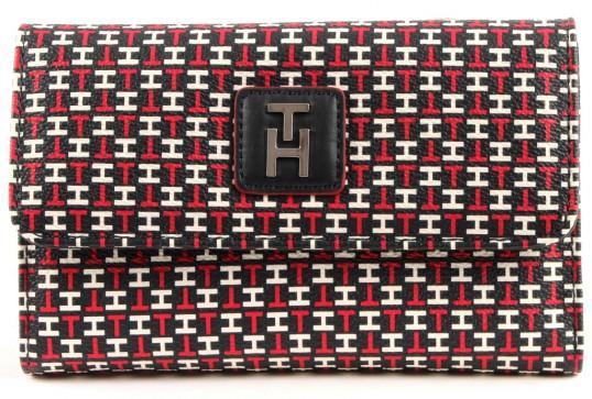 tommy hilfiger hannah flap wallet geldb rse portemonnaie. Black Bedroom Furniture Sets. Home Design Ideas
