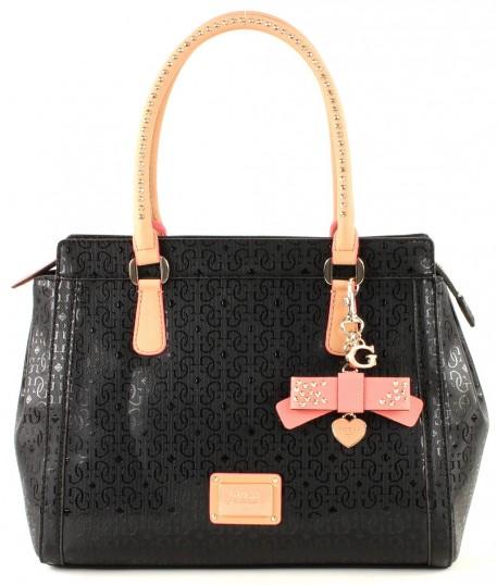 guess specks satchel tasche handtasche schultertasche. Black Bedroom Furniture Sets. Home Design Ideas