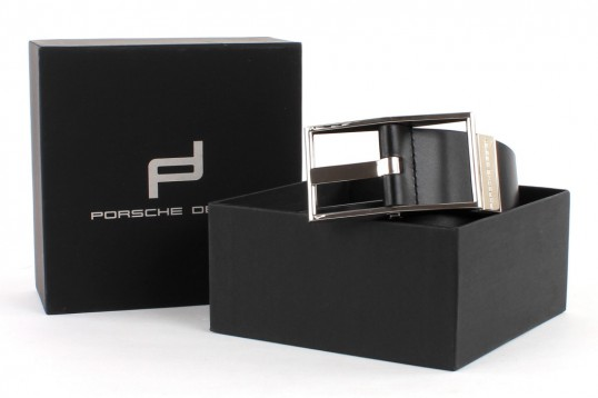 porsche design belts ohio 40 g rtel belt lederg rtel herren schwarz black leder ebay. Black Bedroom Furniture Sets. Home Design Ideas