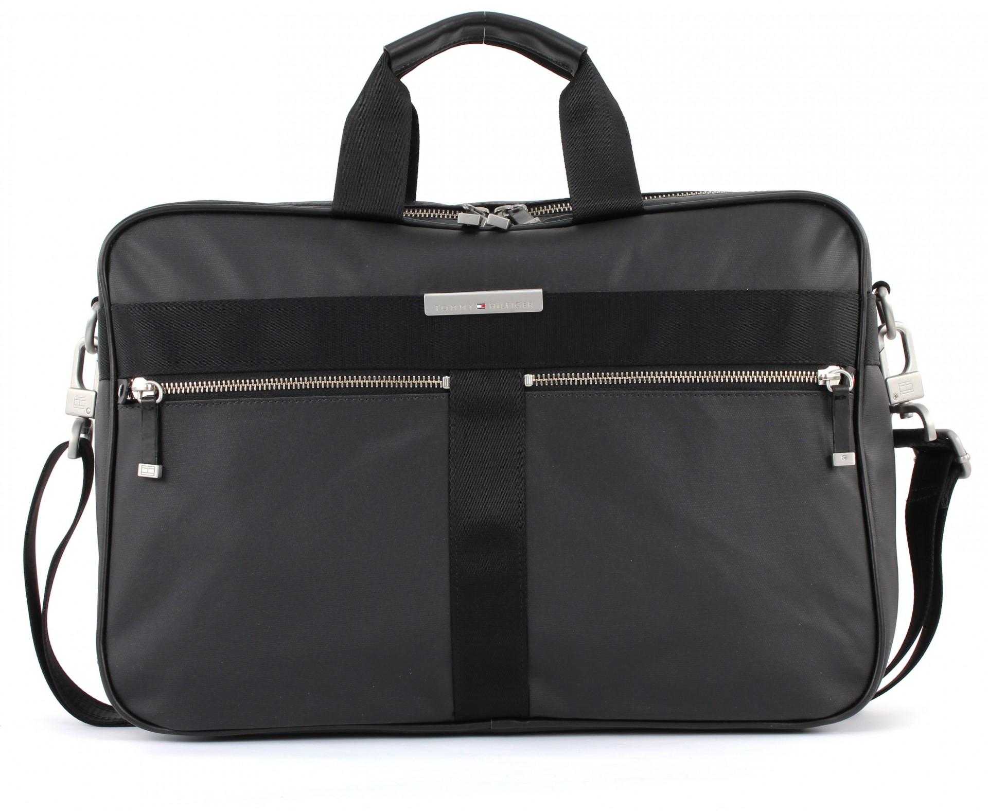 tommy hilfiger darren briefcase aktentasche umh ngetasche. Black Bedroom Furniture Sets. Home Design Ideas