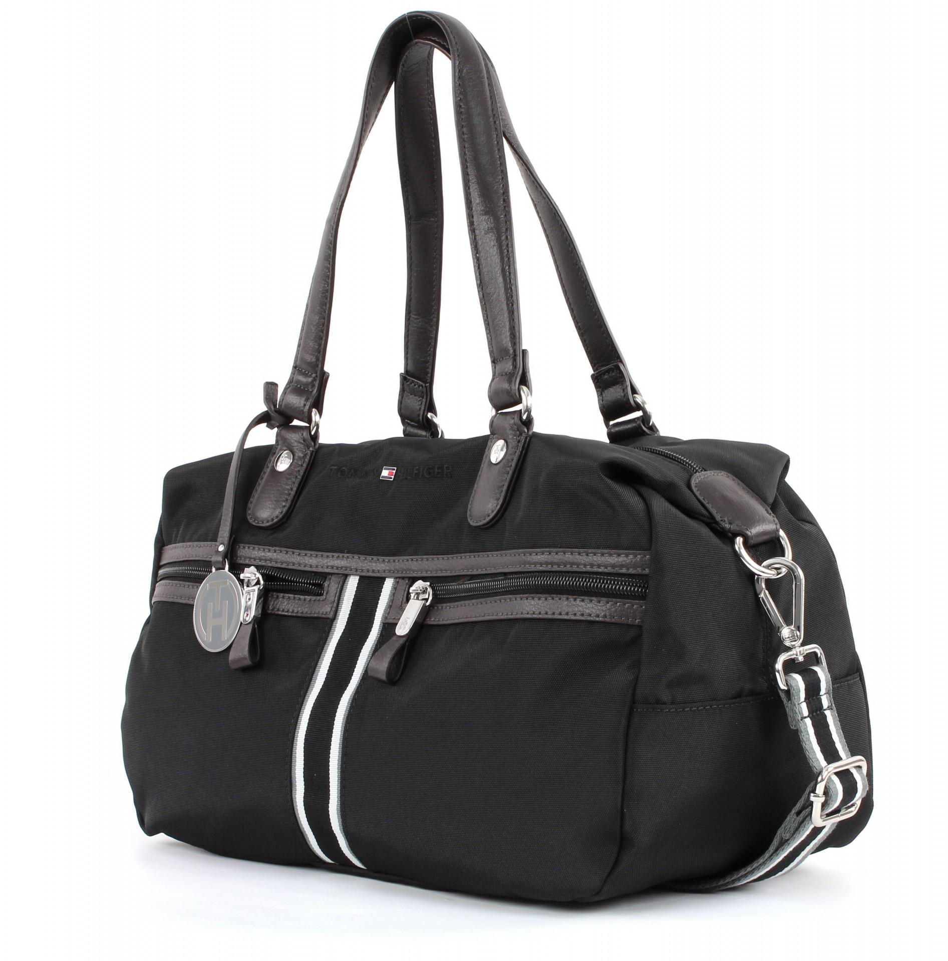 tommy hilfiger petra duffle tasche handtasche. Black Bedroom Furniture Sets. Home Design Ideas