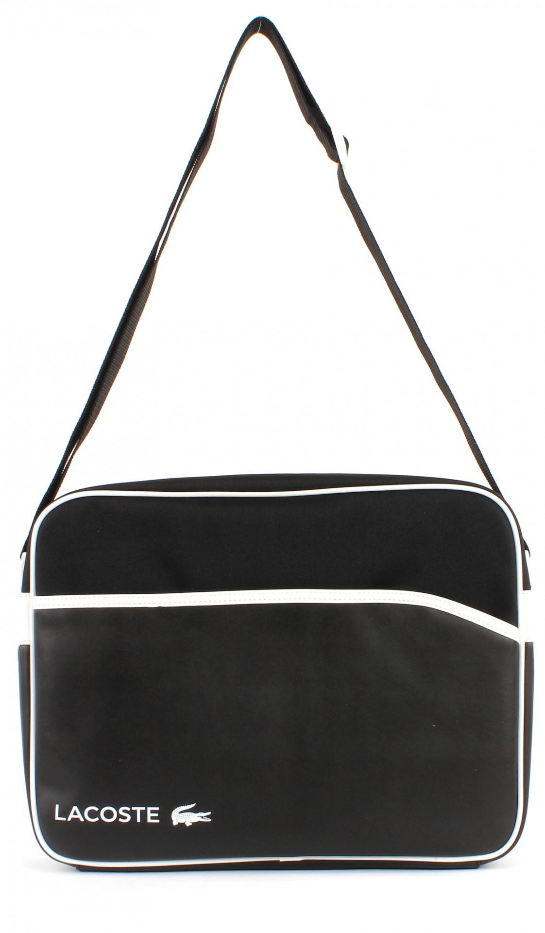 lacoste airline bag tasche schultertasche umh ngetasche. Black Bedroom Furniture Sets. Home Design Ideas