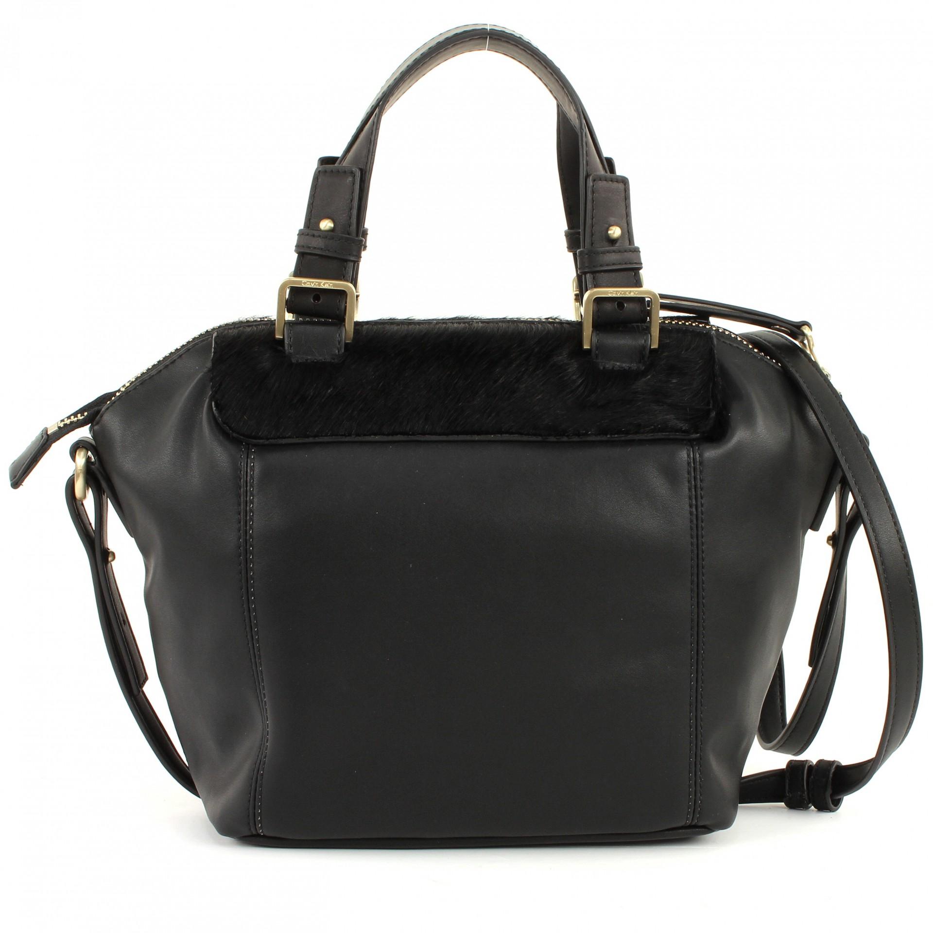 calvin klein faye pony small shopper eine handtasche mit. Black Bedroom Furniture Sets. Home Design Ideas