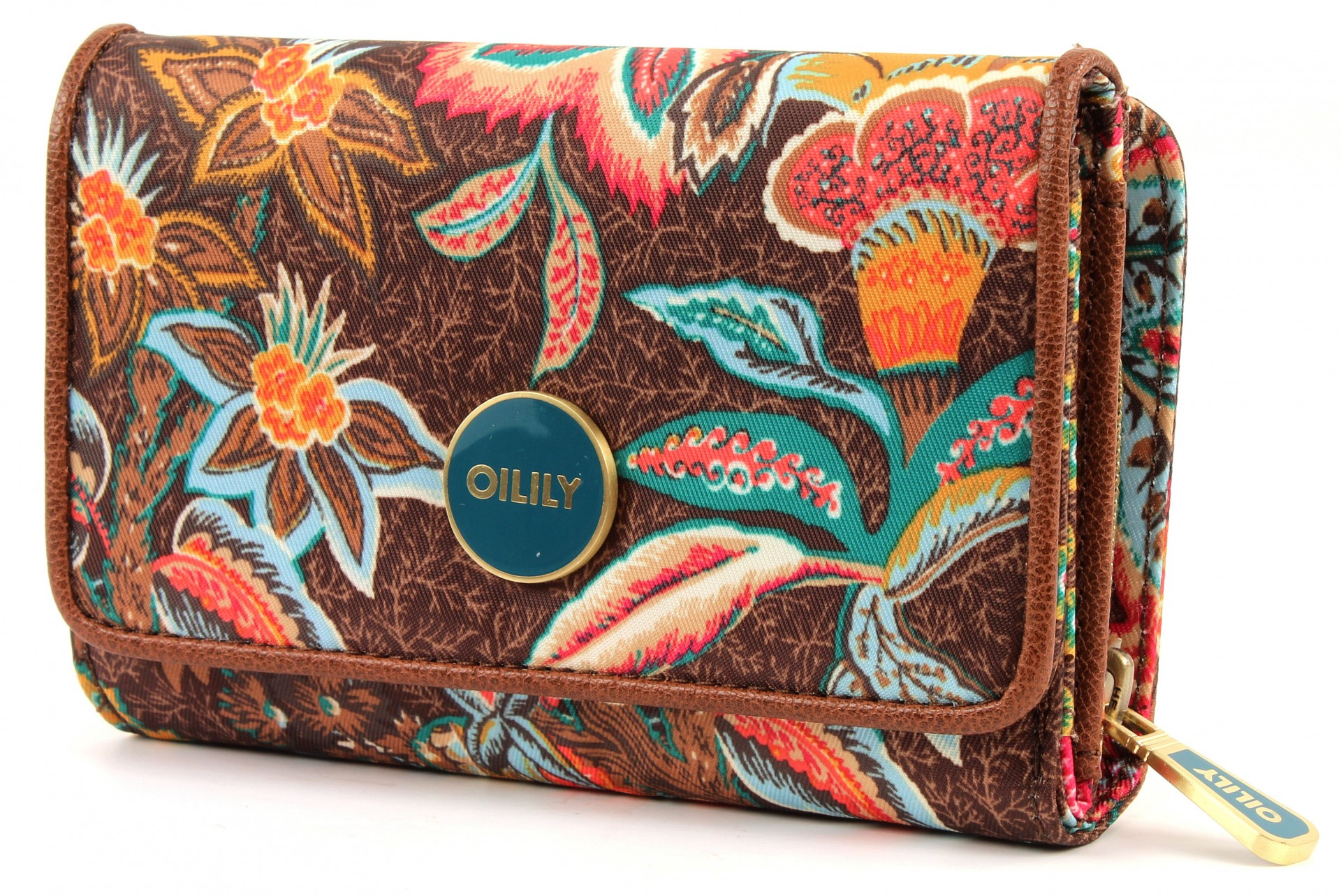 oilily jatin flowers s wallet geldb rse portemonnaie. Black Bedroom Furniture Sets. Home Design Ideas