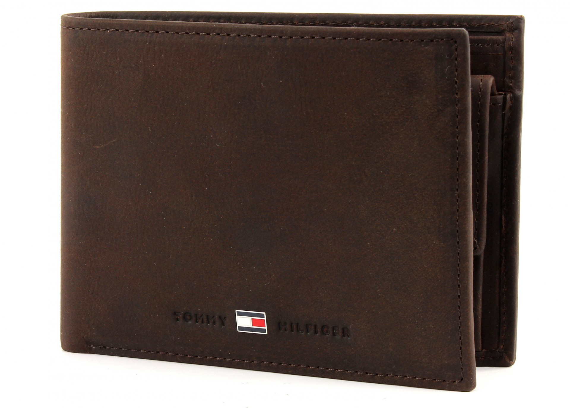 tommy hilfiger wallet bifold men 39 s brown new. Black Bedroom Furniture Sets. Home Design Ideas