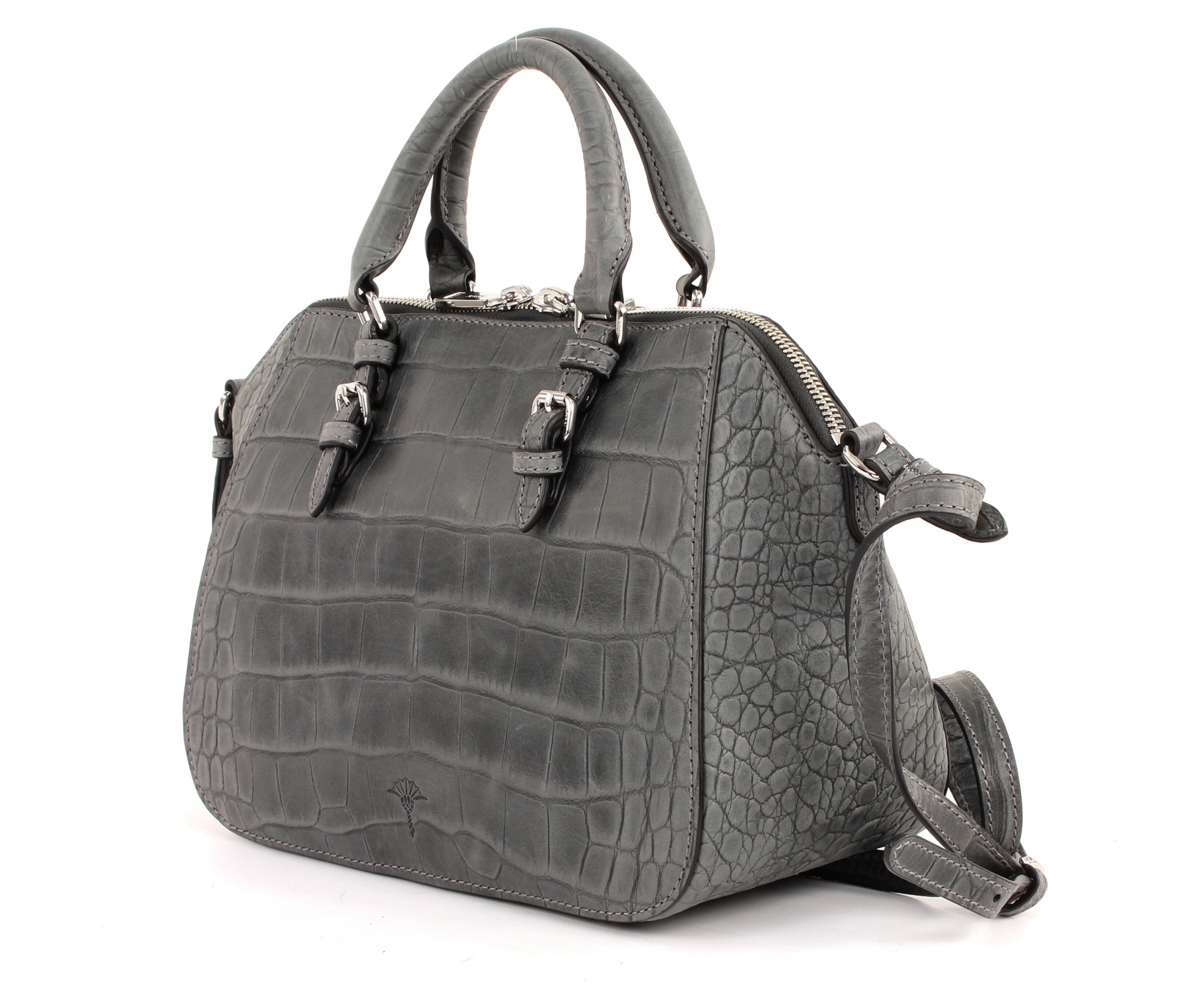 joop thoosa croco soft handbag medium tasche handtasche umh ngetasche damen ebay. Black Bedroom Furniture Sets. Home Design Ideas