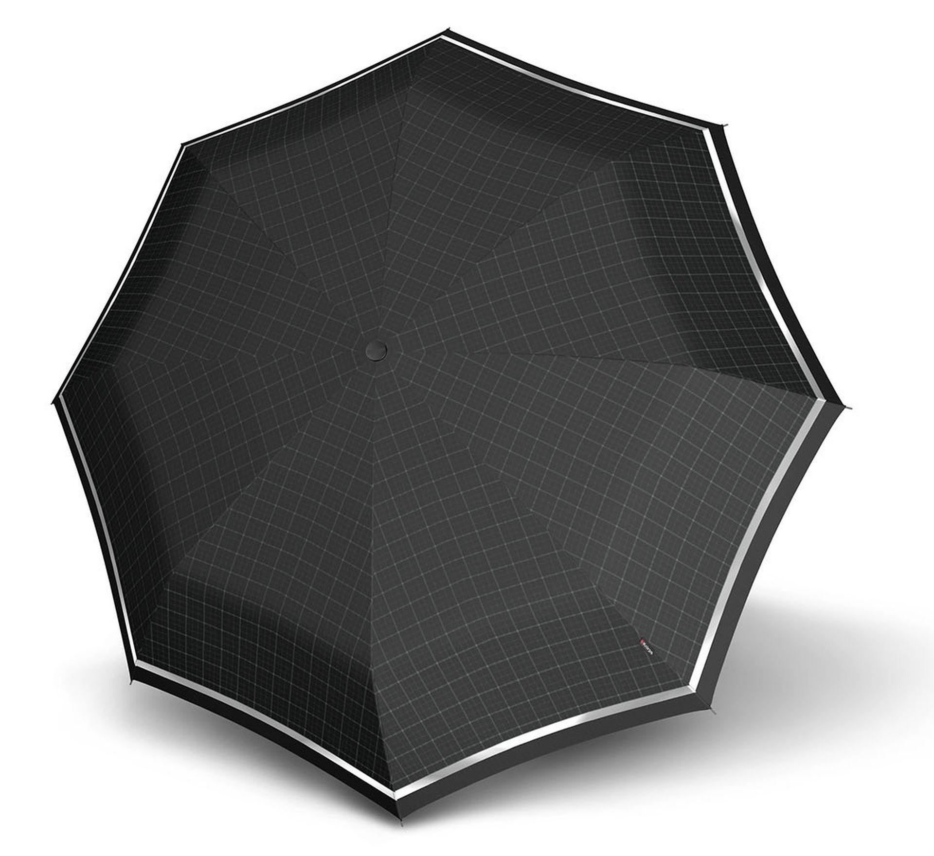 knirps fiber t2 duomatic reflect regenschirm taschenschirm. Black Bedroom Furniture Sets. Home Design Ideas