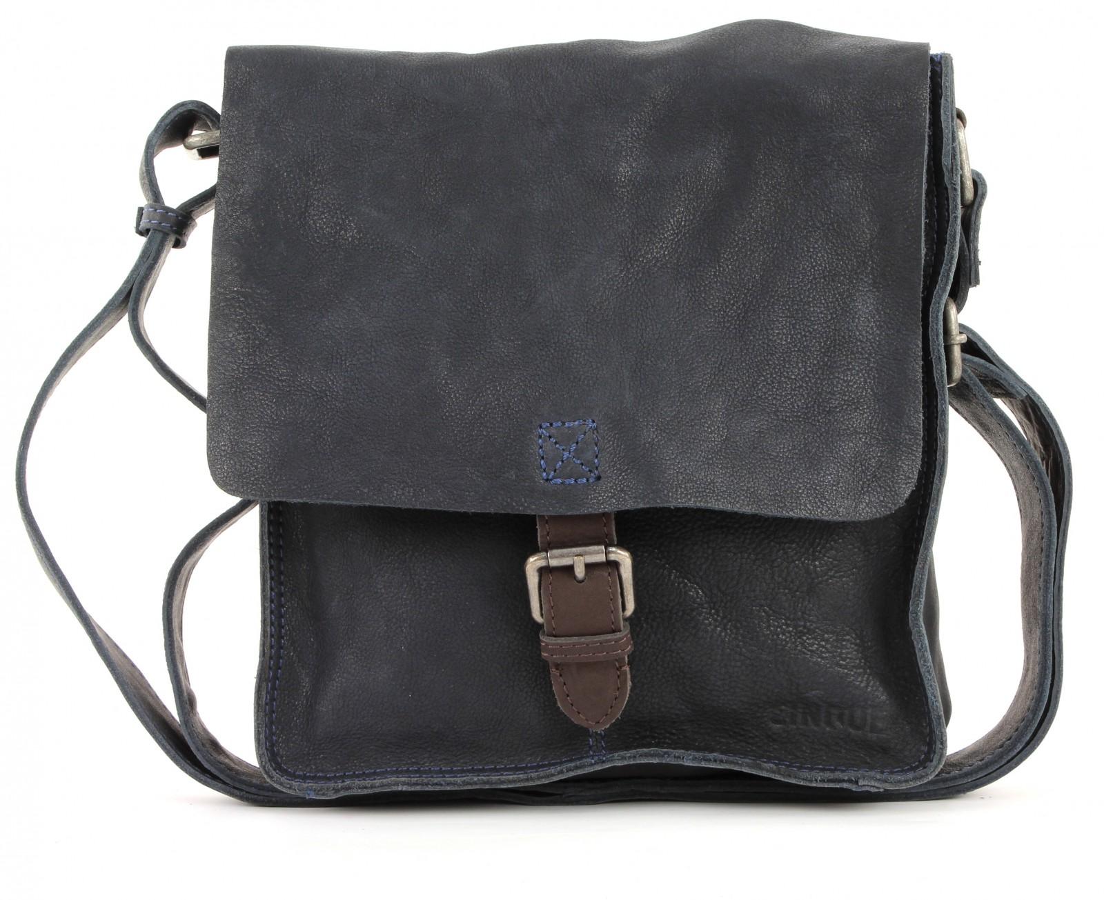 cinque tommaso crossbag tasche umh ngetasche schultertasche herren blau leder ebay. Black Bedroom Furniture Sets. Home Design Ideas