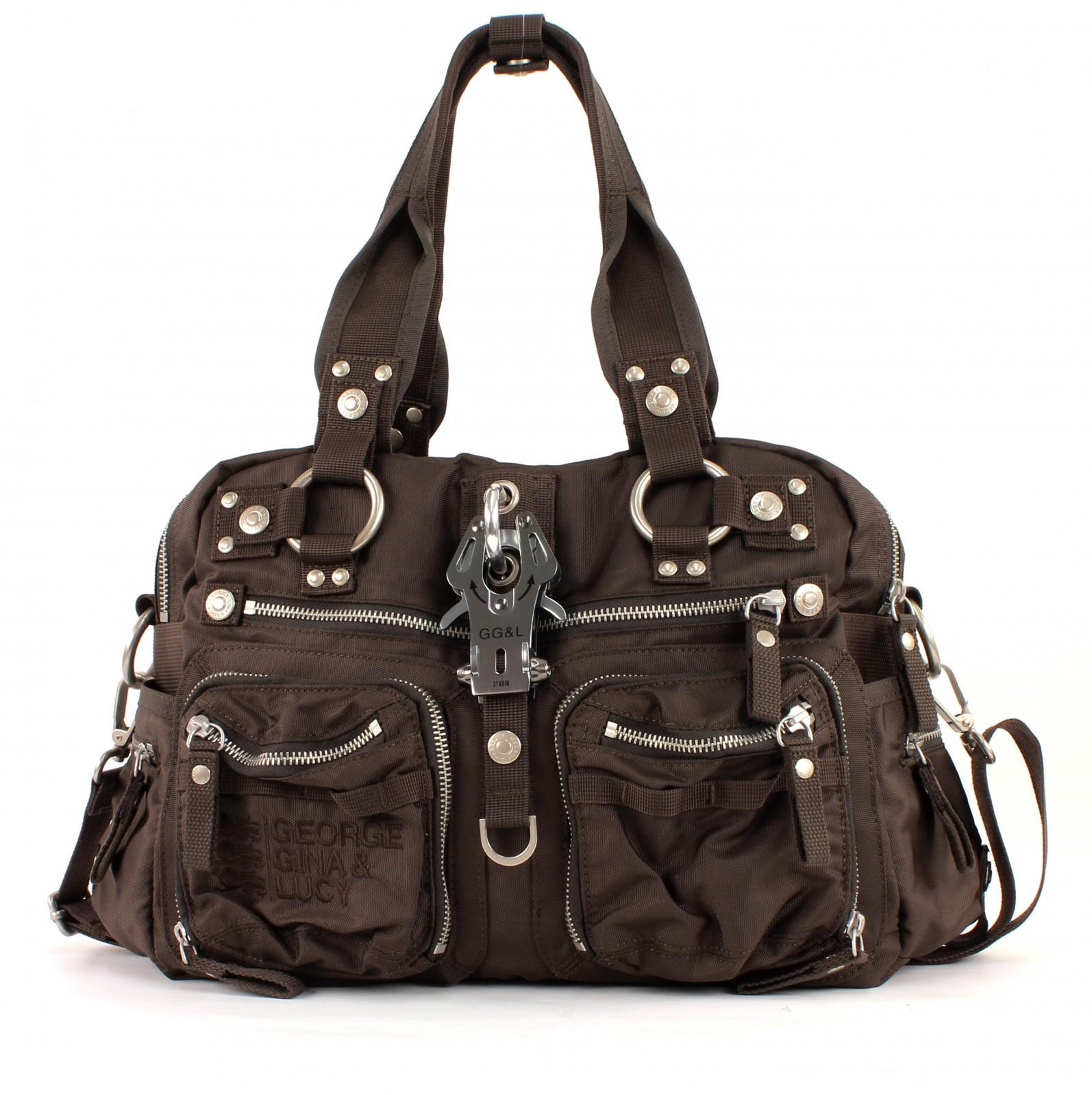 george gina lucy nylon double b tasche handtasche. Black Bedroom Furniture Sets. Home Design Ideas
