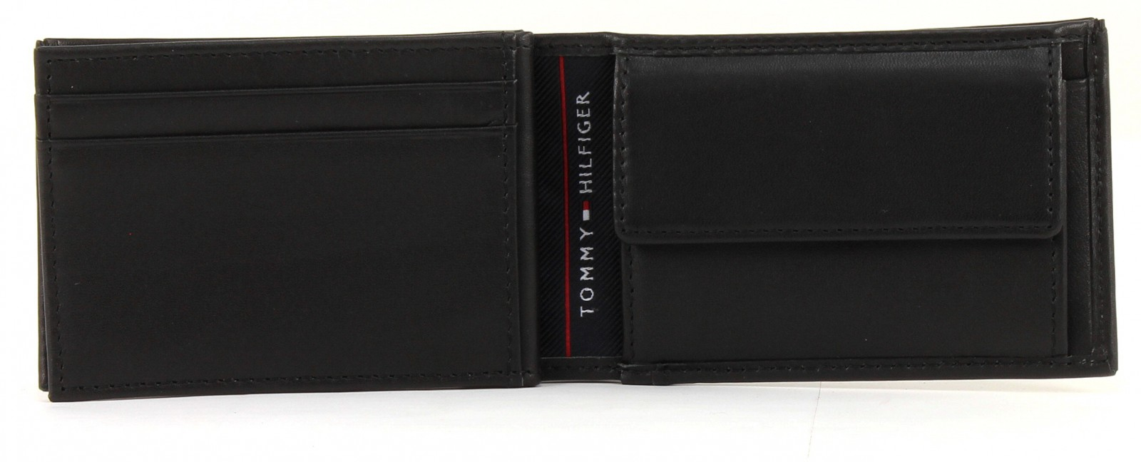 tommy hilfiger harry mini cc flap and coin pocket wallet black. Black Bedroom Furniture Sets. Home Design Ideas