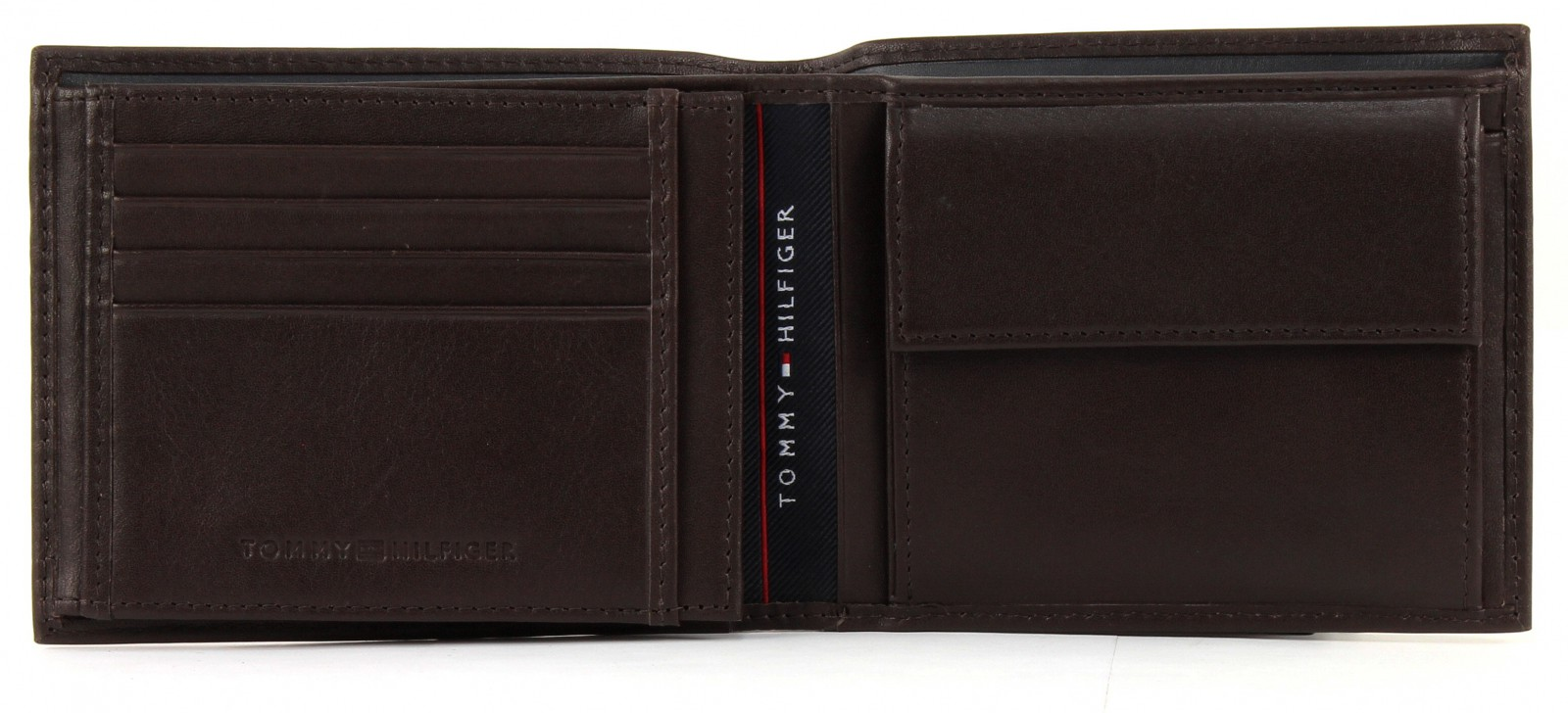 tommy hilfiger harry trifold wallet money bag portemonnaie men 39 s leather brown