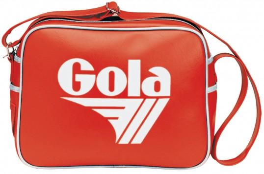Redford Bag Tasche Schultertasche Rot Weiß Red White