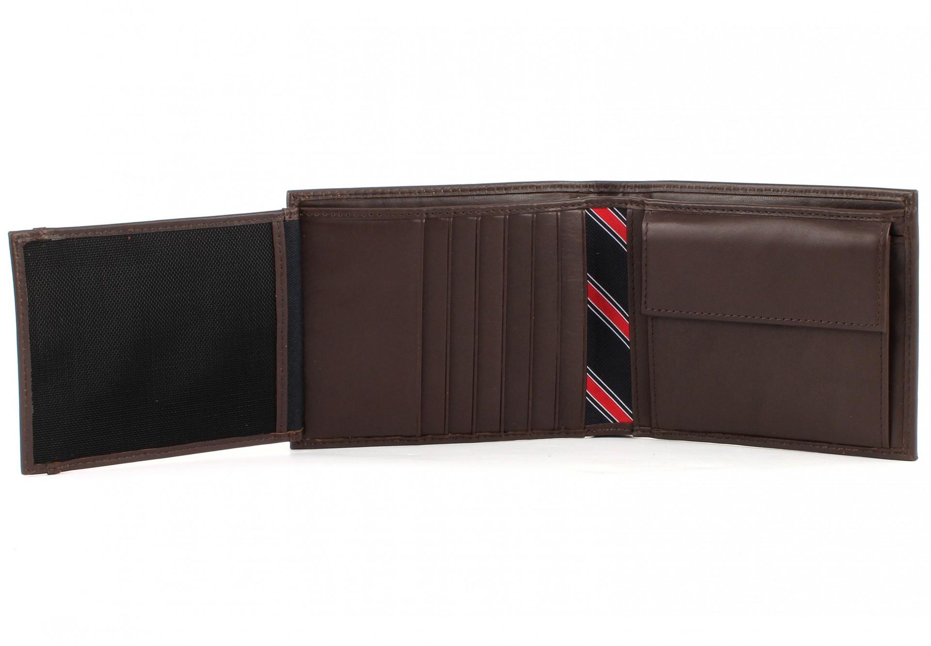 tommy hilfiger eton trifold wallet brown bild 3 pictures. Black Bedroom Furniture Sets. Home Design Ideas